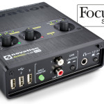 Nueva Novation Audiohub 2×4, interface + hub USB