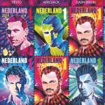 Cinco famosos djs holandeses legan a las estampillas