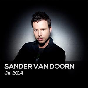 SANDER VAN DOORN – Julio 2014