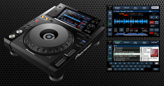 Pioneer lanza el XDJ-1000, un cd player que no usa cds!