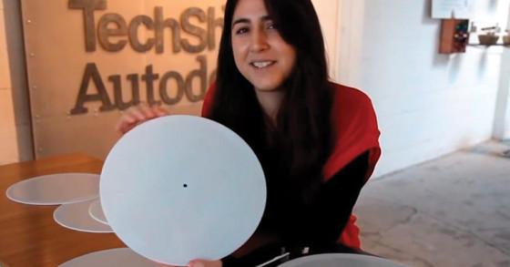 Imprimir discos de vinyl en una impresora 3D?