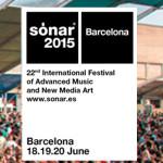 Sónar 2015 hace los primeros anuncios de Line-up