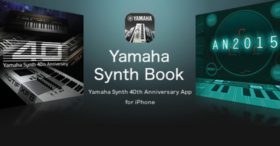 VIDEO – A SUS 40 AÑOS YAMAHA NOS TRAE SYNTH BOOK