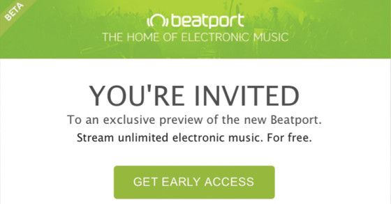 BEATPORT STREAMING INICIA FASE BETA