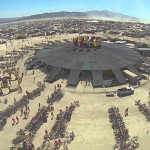 VIDEO –  BURNING MAN FILMADO DESDE DRONES
