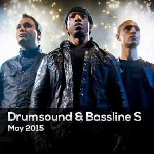 DRUMSOUND & BASSLINE SMITH – MAYO 2015