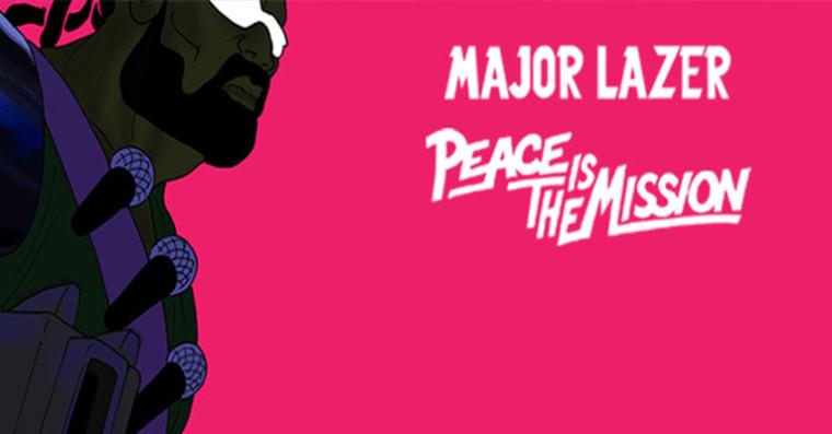 AUDIO – MAJOR LAZER LANZA SU NUEVO ÁLBUM «PEACE IS THE MISSION»