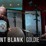 VIDEO – GOLDIE GRABANDO BATERIAS CON LOS ESTUDIANTES DE POINT BLANK
