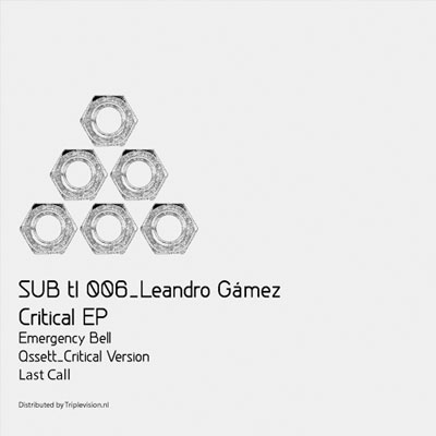 LEANDRO GÁMEZ – CRITICAL EP