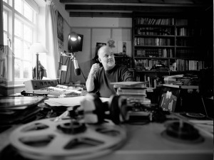 Broadcaster John Peel, UK 2002 --- Image by © Jamie Beeden/The Hell Gate/Corbis