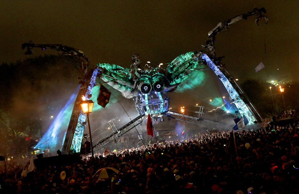 The Spider Stage