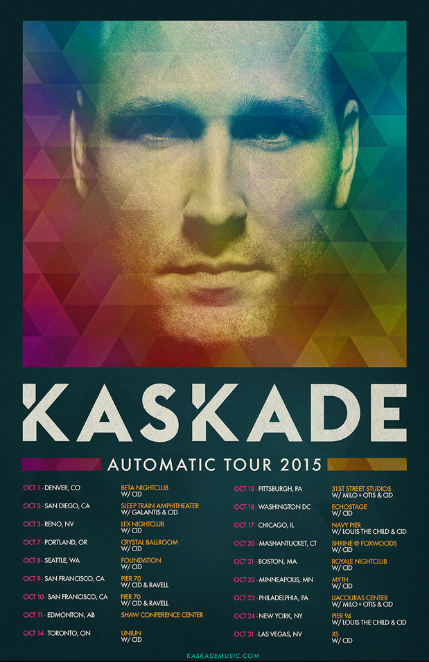 Tour Dates Kaskade
