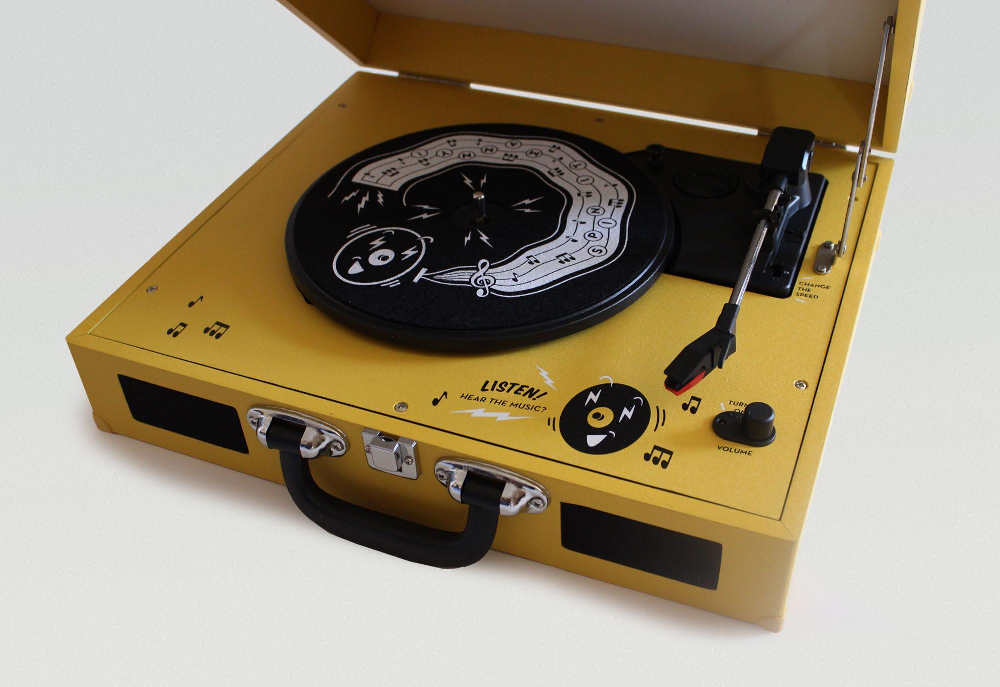 Mini Record Player