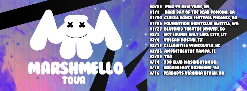 Marshmello Tour Dates