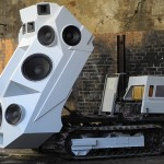 VIDEO – SOUNDTANK UN TANQUE EQUIPADO CON ALTAVOCES