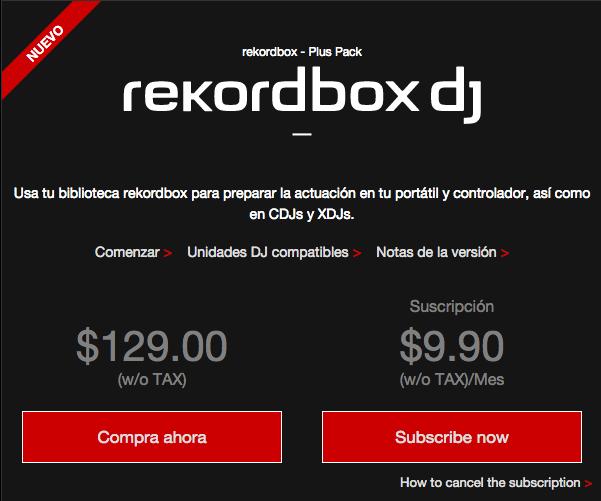 Rekordbox Dj Licencia