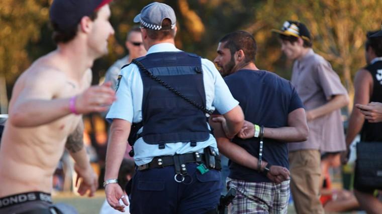 POLICÍAS AUSTRALIANOS DAN POSITIVO CON DROGAS EN EL STEREOSONIC FESTIVAL