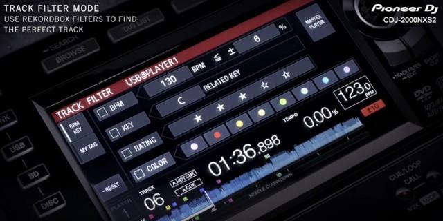 Track Filter Mode