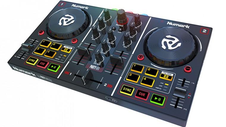 NUMARK PARTY MIX: CONTROLADOR PARA DJS AMATEURS CON ILUMINACIÓN