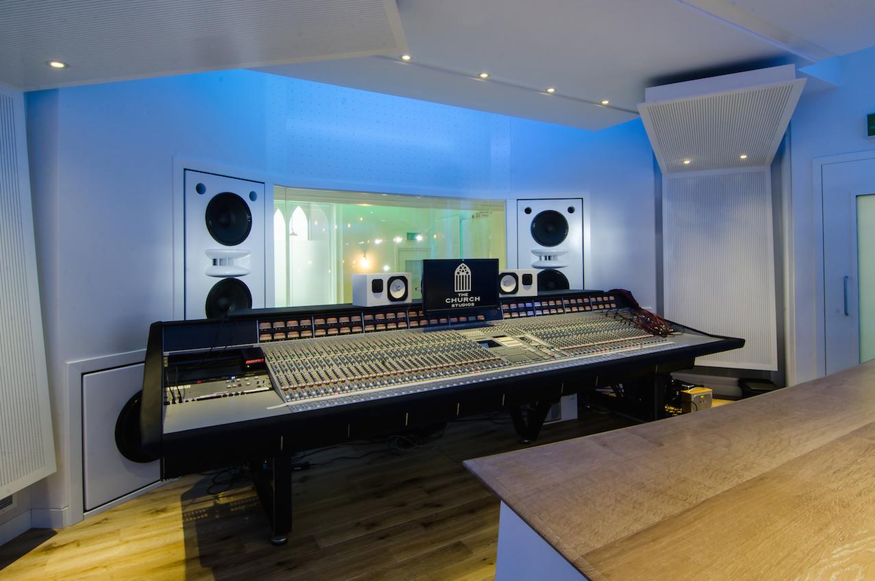 1. The Church Studios Control Room Studio 2 Front - Photo  Dirk Noy LR