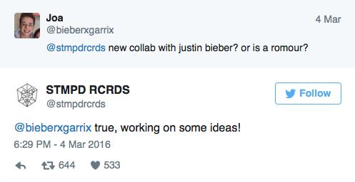 Justin Bieber y Martin Garrix
