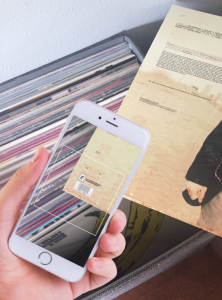 Discogs App - barcode scanner 2