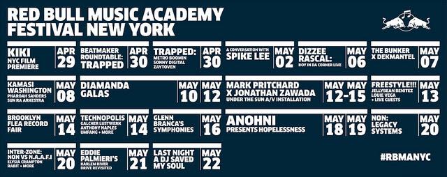 Red Bull Music Academy Festival NY