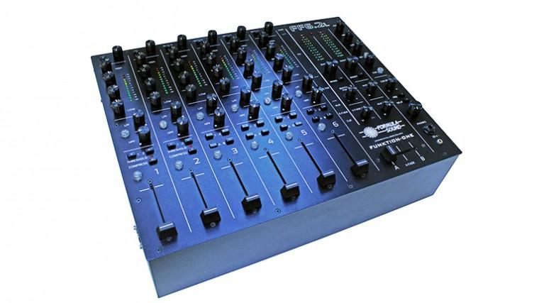 FUNKTION-ONE DEVELÓ NUEVO MIXER PARA DJ EN EL MUSIKMESSE 2016