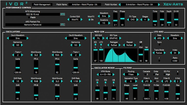 DESCARGA GRATIS «IVOR2»: SINTETIZADOR VIRTUAL MICROTONAL ANALÓGICO