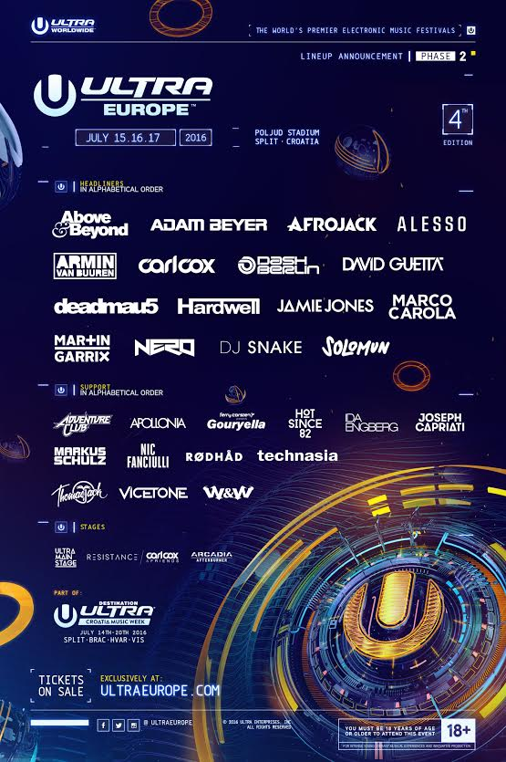 ultra europe phase-2 2016