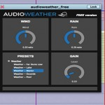 DESCARGA GRATIS «AUDIOWEATHER»: PLUGIN GENERADOR DE CLIMAS DINÁMICO