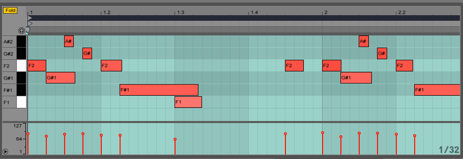 MIDI-Screenshot