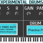 DESCARGA GRATIS: «EXPERIMENTAL DRUMS ROMPLER VST»