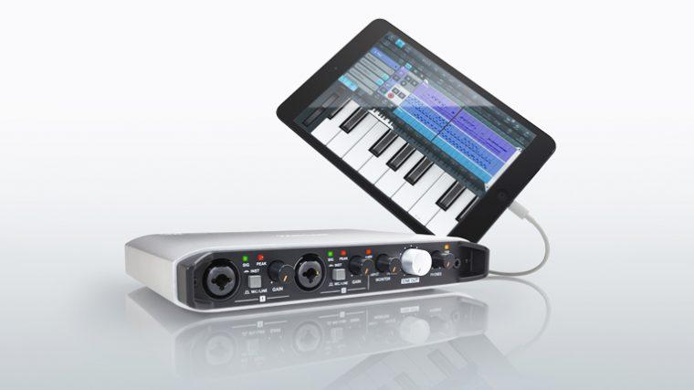 TASCAM PRESENTÓ SU NUEVA INTERFACE «iXR USB AUDIO/MIDI»