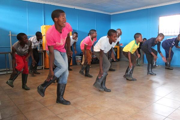 Jovenes de Soweto. Campaña de LocoDice