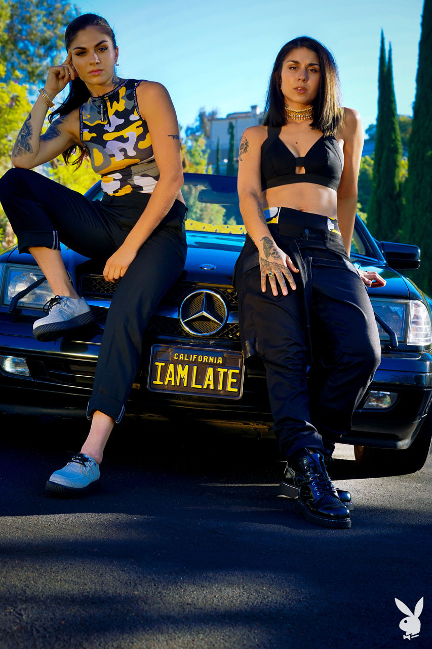 Krewella en Playboy 3
