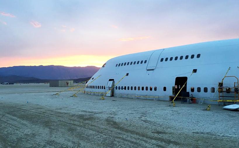 """El """"proyecto 747"""" aterriza en Nevada"""