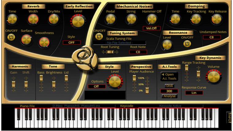 AUDIO – «RUBY GRAND»: MODELADO DEL GRAN PIANO YAMAHA C7 DE 1972