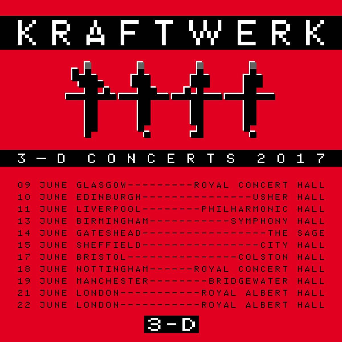 Fechas Kraftwerk 2017