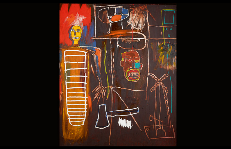 Jean-Michel Basquiat, Air Power, 1984.