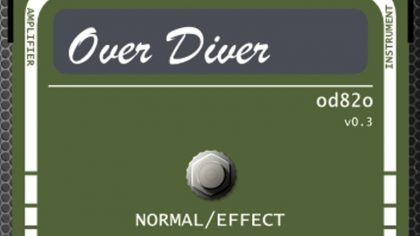DESCARGA GRATIS: OVER DIVER OD82O – VST PARA DISTORSIÓN