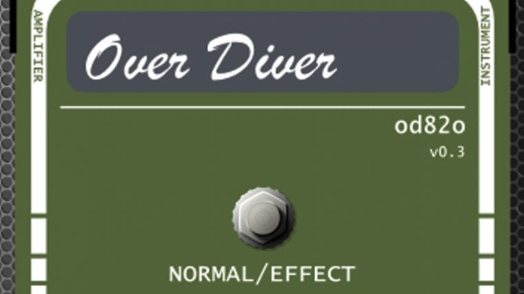 DESCARGA GRATIS: OVER DIVER OD82O – VST PARA DISTORSIÓN