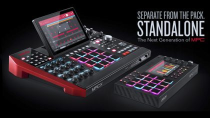 VIDEO – NUEVOS AKAI MPC X / LIVE: RETORNO AL WORKSTATION CLÁSICO