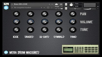 VIDEO – DESCARGA GRATUITA: LIBRERÍA MEGA DRUM MACHINES PARA KONTAKT