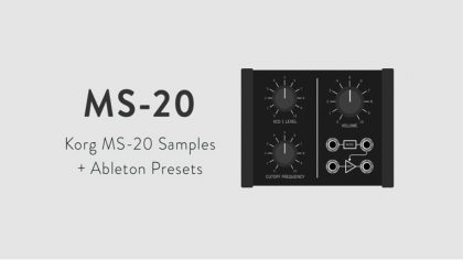 VIDEO – DESCARGA GRATIS: SAMPLE PACK KORG MS-20 + PRESETS DE ABLETON LIVE