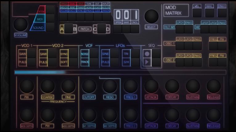 El Shear Electronics Relic-6 es completamente analógico de seis voces.