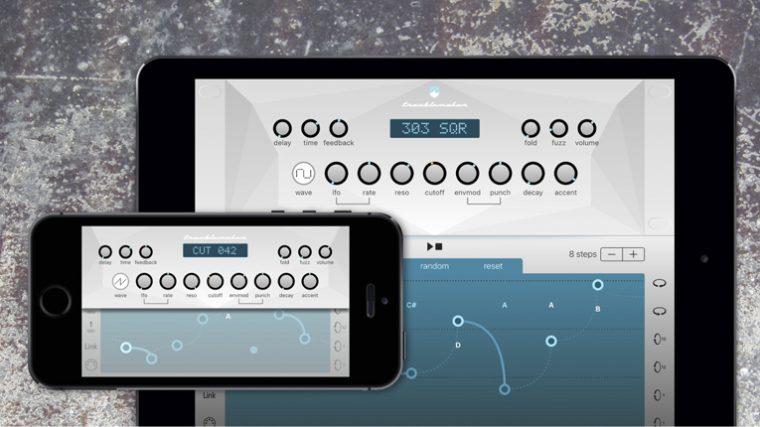 TROUBLEMAKER: EL NUEVO SINTETIZADOR «303» PARA iOS
