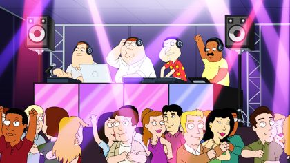 VIDEO – FAMILY GUY ESTRENA EPISODIO DEDICADO A LA MÚSICA ELECTRÓNICA