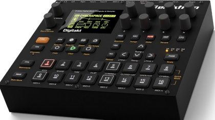 VIDEO – DIGITAKT ELEKTRON: UN DRUM MACHINE Y SAMPLER DE 8 PISTAS