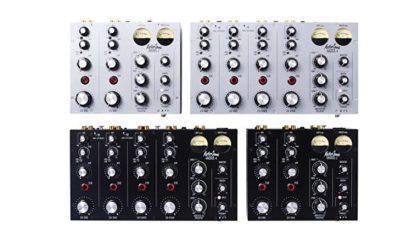 """MASTERSOUNDS LANZA DJ MIXER ANALÓGICO DE CUATRO CANALES """"RADIUS 4"""""""